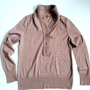 Tory Burch Wool/Cashmere V Neck Sweater